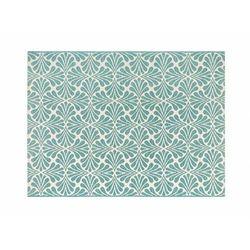Dywan wewnętrzny lub zewnętrzny COQUILLA – 150 × 200 cm – kolor jasny niebieski