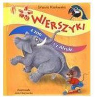 Książki dla dzieci, Wierszyki z zoo i z Afryki (opr. kartonowa)