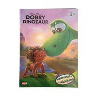Kolorowanki, Dobry dinozaur Kolorowanka z naklejkami