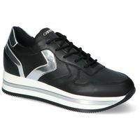 Damskie obuwie sportowe, Sneakersy Chebello 2710-002-045-PSK-S153 Czarne lico