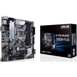 Asus Płyta główna PRIME Z490M-PLUS s1200 4DDR4 HDMI/DVI/DP M.2 uATX