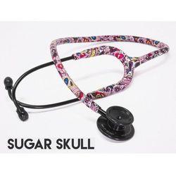 Stetoskop internistyczny MDF MD One 777 MPrints - Sugar Skull BlackOut