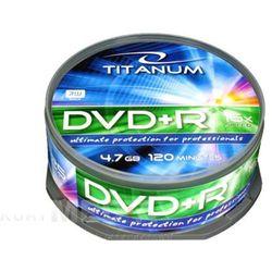 Esperanza DVD+R TITANUM 4,7GB x16 CAKE BOX 25 - 1287 Darmowy odbiór w 21 miastach!