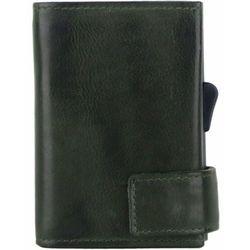 SecWal SecWal 1 Kreditkartenetui Geldbörse RFID Leder 9 cm grün ZAPISZ SIĘ DO NASZEGO NEWSLETTERA, A OTRZYMASZ VOUCHER Z 15% ZNIŻKĄ