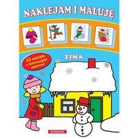 Książki dla dzieci, Naklejam i maluję. Zima - Praca zbiorowa (opr. miękka)