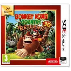 Gra 3DS Donkey Kong Country Returns 3D Selects