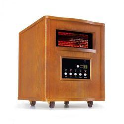 Klarstein Heatbox grzejnik na podczerwień 1500W 12h-timer pilot dąb