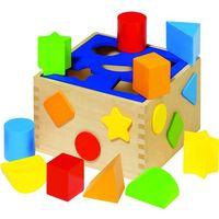 Pozostałe zabawki edukacyjne, Drewniany sorter, Goki WM 254