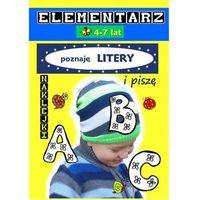 Książki dla dzieci, Elementarz 4-7 lat Poznaję literki i piszę - Love Books OD 24,99zł DARMOWA DOSTAWA KIOSK RUCHU (opr. miękka)