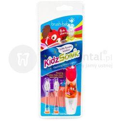 BRUSH-BABY KidzSonic 6+ szczoteczka soniczna dla dzieci
