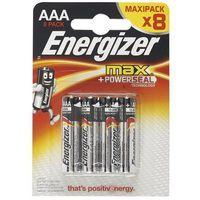 Baterie, Bateria alkaliczna MAX AAA E92 8 SZT. ENERGIZER