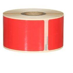 Etykiety samoprzylepne Dymo 99012 czerwone - 36x89mm, 260 szt.
