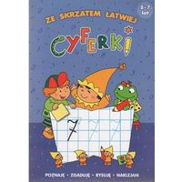 Książki dla dzieci, Cyferki Ze skrzatem łatwiej 5-7 lat (opr. miękka)