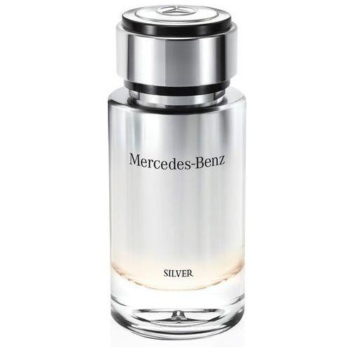 Testery zapachów dla mężczyzn, Mercedes-Benz Mercedes-Benz Silver woda toaletowa 120 ml tester dla mężczyzn