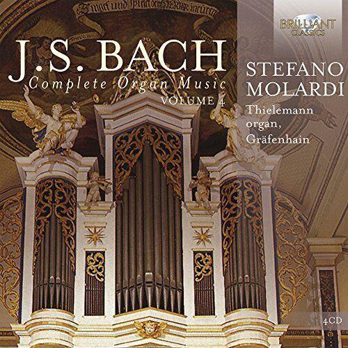 Dawna muzyka klasyczna, J.S. Bach: Complete Organ Music vol. 4 - Dostawa 0 zł