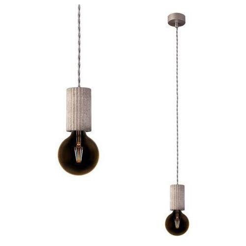 Tralki, Betonowa lampa TULUM CONCRETE tralka E27 9692 beton + RABAT w koszyku za ilość!