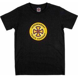 koszulka INDEPENDENT - Combo TC Black (BLACK) rozmiar: 8-10