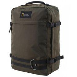 """National Geographic Hybrid plecak podróżny / torba kabinowa / na laptopa 15,6"""" / RFID / N11801 zielony - Khaki"""