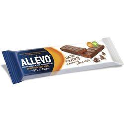 ALLEVO Baton kakaowy w mlecznej czekoladzie 57g