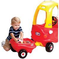 Pozostałe samochody i pojazdy dla dzieci, Cozy Coupe Przyczepka czerwona