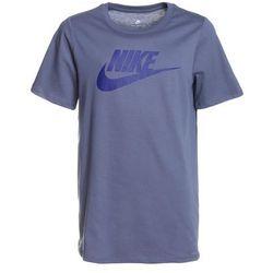 Nike Performance CREW FUT ICON TEE Tshirt z nadrukiem light carbon/deep royal blue