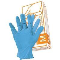 Rękawice robocze, RĘKAWICE NITRYLOWE JEDNORAZOWE M - RNITRION Reis nitrylowe