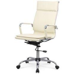 Nestor fotel gabinetowy kremowy