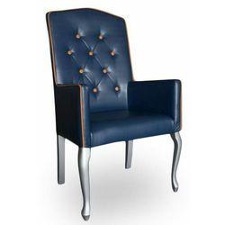 Fotel tapicerowany Ludwik wysoki 111 cm