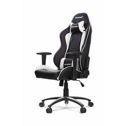 AKRACING Nitro Gaming Chair - czarny/biały