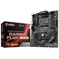 Płyta główna MSI X470 GAMING PLUS MAX DDR4 DIMM AM4 ATX CrossFire RAID SATA- natychmiastowa wysyłka, ponad 4000 punktów odbioru!