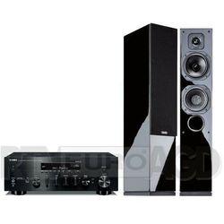 Yamaha MusicCast R-N803D (czarny), Indiana Line Diva 552 (czarny połysk)