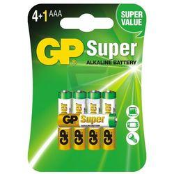 5 x bateria alkaliczna GP Super Alkaline LR03/AAA