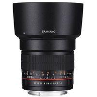 Obiektywy do aparatów, Samyang 85 mm f/1.4 IF ED MC Aspherical Canon - produkt w magazynie - szybka wysyłka!