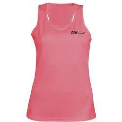 TTK TOP CAPSULE NEON PINK- koszulka tenisowa R. S