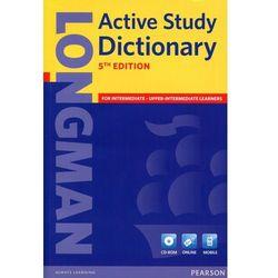 Longman Active Study Dictionary + CD-ROM (Miękka Oprawa) 5th Edition (opr. miękka)