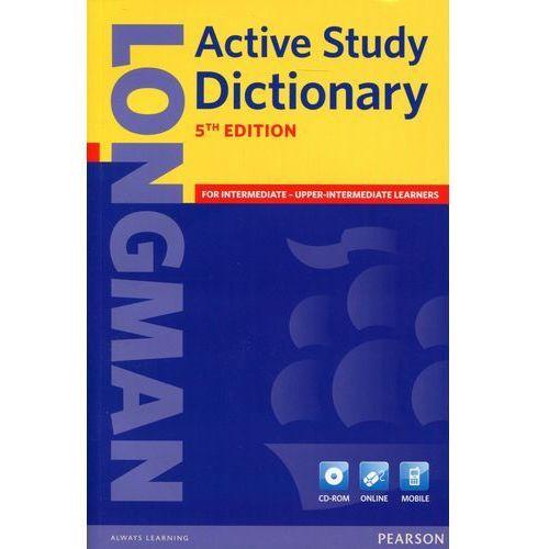 Słowniki, encyklopedie, Longman Active Study Dictionary + CD-ROM (Miękka Oprawa) 5th Edition (opr. miękka)