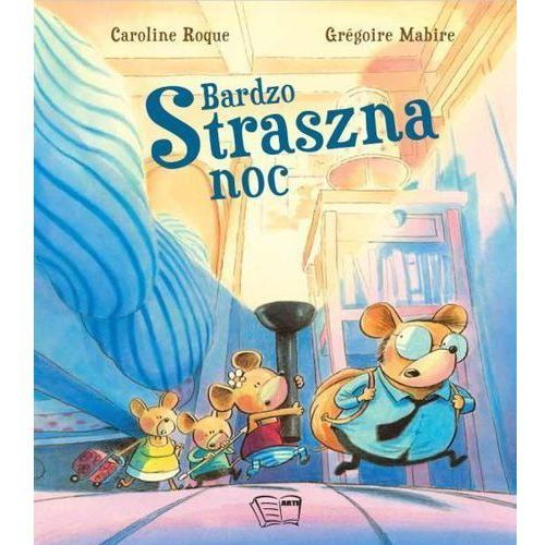 Książki dla dzieci, Bardzo straszna noc (opr. miękka)