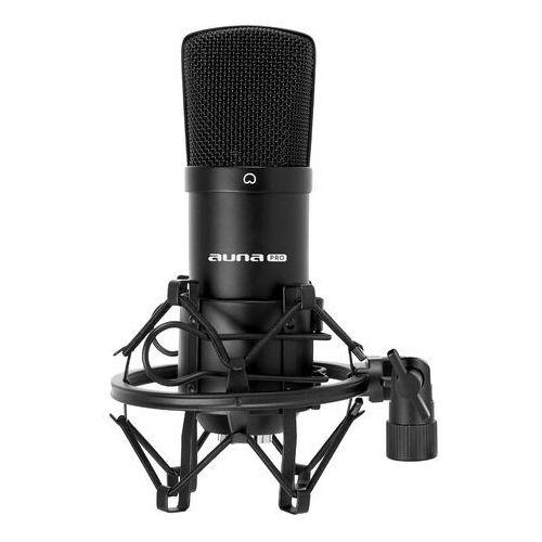 Mikrofony, Auna CM001B studyjny mikrofon pojemnościowy XLR czarny