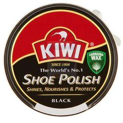 Pasta do butów Kiwi czarna 50 ml