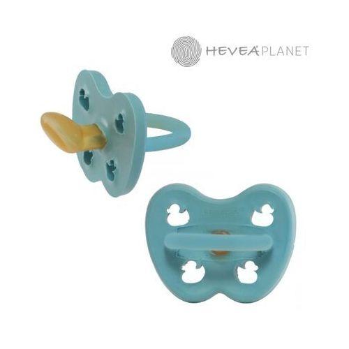 Smoczki, Anatomiczny smoczek kauczukowy, 0-3 msc, Kaczuszki Twilight Blue, HEVEA