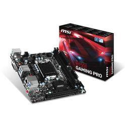 MSI B150I GAMING PRO, B150, DualDDR4-2133, SATA3, HDMI, DVI, USB 3.1, mITX