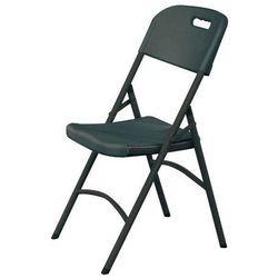 Krzesło cateringowe | czarne | 540x440x(H)840mm