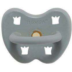 Anatomiczny smoczek kauczukowy, 3-36 msc, Gorgeous grey, HEVEA