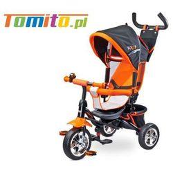 Rowerek trójkołowy Caretero Toyz Timmy Pomarańczowy