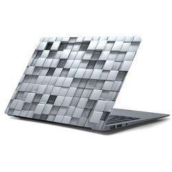 Naklejka na laptopa - Szara kostka 4355