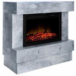 Kominek elektryczny MATRIX 2000W beton FERRETTI