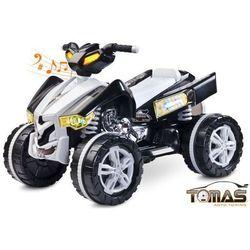 Quad Raptor pojazd na akumulator Toyz Biały