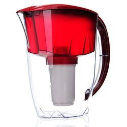 Dzbanek do wody Aquaphor PRESTIGE Czerwony- 2,8 l + filtr B100-5