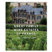 Książki do nauki języka, Great Family Wine Estates of France (opr. twarda)