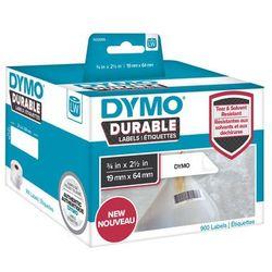 Etykiety DYMO Durable do kodów kreskowych - 19mm x 64mm, 1933085 Dystrybutor DYMO! Oryginał